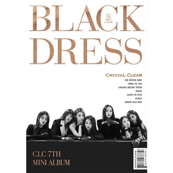 CLC | 씨엘씨 | 7th Mini Album : BLACK DRESS