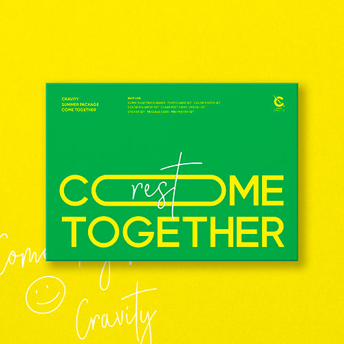 CRAVITY | 크래비티 | SUMMER PACKAGE : COME TOGETHER [ver. REST]