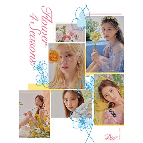 DIA | 다이아 | 6th Mini Album : FLOWER 4 SEASONS