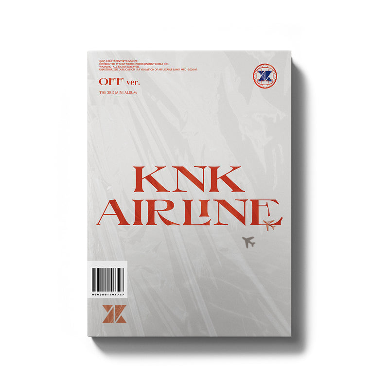 KNK | 크나큰 | 3rd Mini Album [KNK AIRLINE]