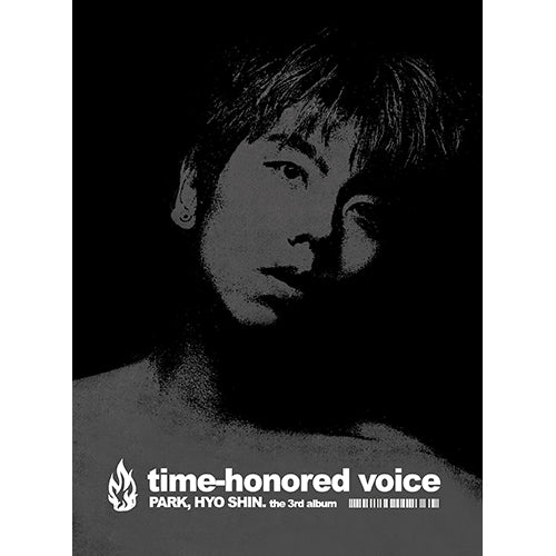 PARK HYO SHIN | 박효신 | 3rd Album : TIME HONORED VOICE - KPOP MUSIC TOWN (4398592458830)