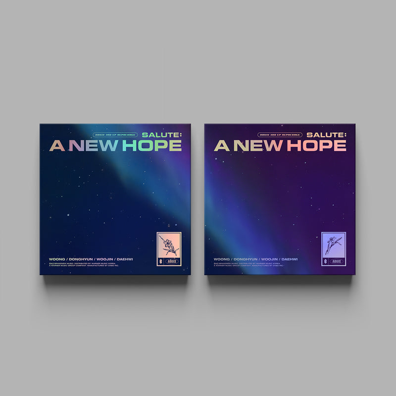 AB6IX | 에이비식스 | 3rd EP REPACKAGE [SALUTE: A NEW HOPE]