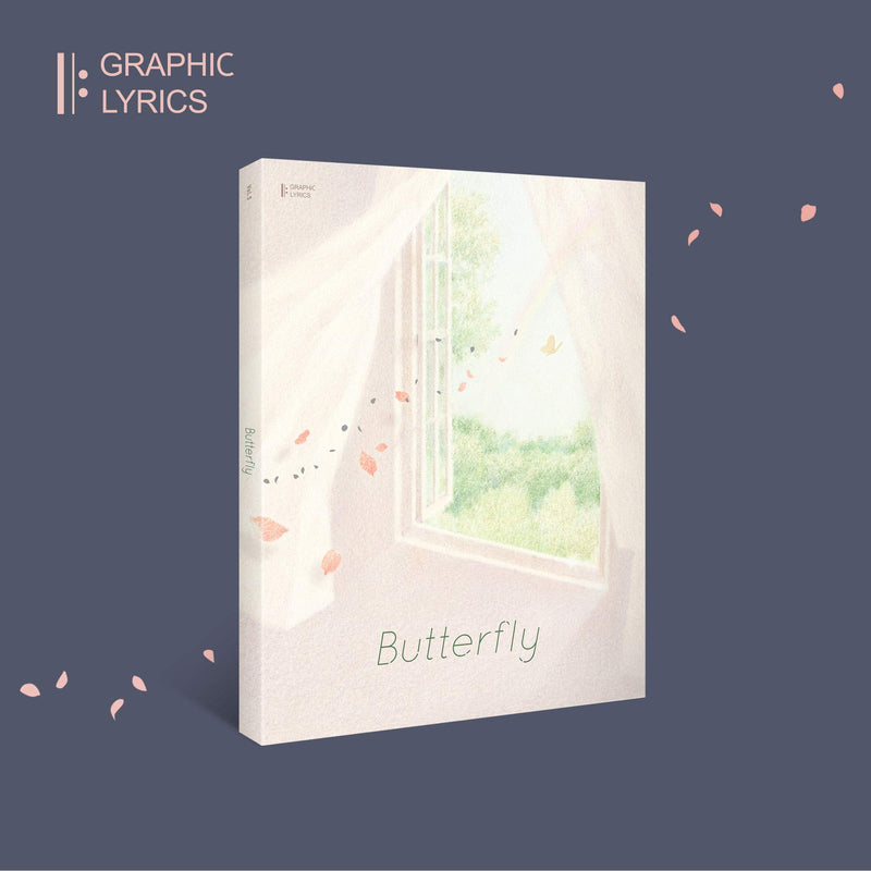 BTS | 방탄소년단| Graphic Lyrics | Butterfly [ Vol. 5 ]