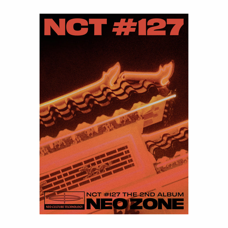 NCT 127 | 엔시티127 | 2nd Album : NCT #127 NEOZONE [ T Ver. ] (4584831025230)