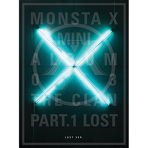 MONSTA X | 몬스타 엑스 | 3rd Mini Album : THE CLAN 2.5 [ PT .1 ]