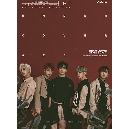 A.C.E | 에이스 | 2nd Mini Album : UNDERCOVER - KPOP MUSIC TOWN (4325699715150)