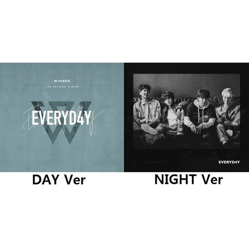 WINNER | 위너 | 2nd Album : EVERYD4Y - KPOP MUSIC TOWN (4420850450510)