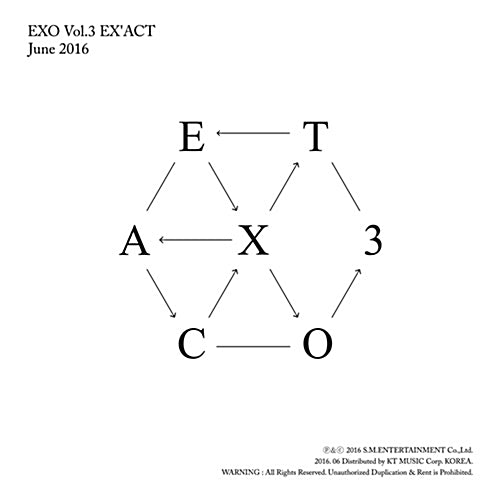 EXO | 엑소 | 3rd Album : EX'ACT | LUCKY ONE VER. - KPOP MUSIC TOWN (4331196842062)