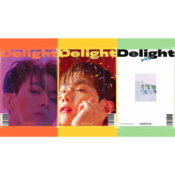 BAEKHYUN | 백현 | 2nd Mini Album : Delight