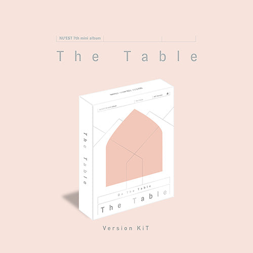 NU'EST | 뉴이스트 | 7th Mini : THE TABLE [ KIHNO KIT ] - KPOP MUSIC TOWN (4429189054542)