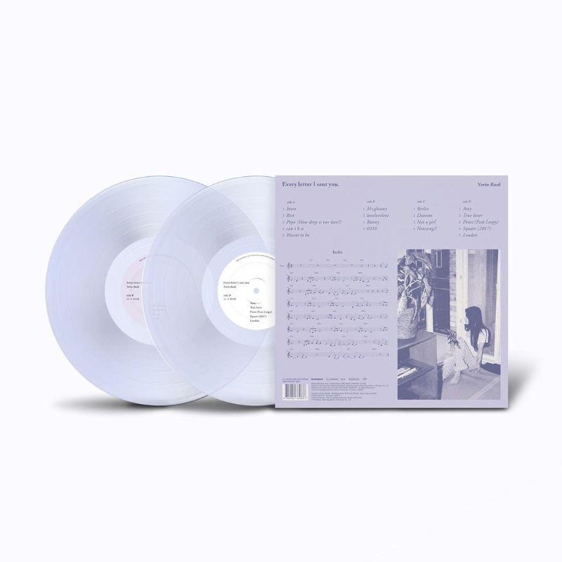 BAEK YERIN | 백예린 | EVERY LETTER I SENT YOU [  REGULAR LP ]