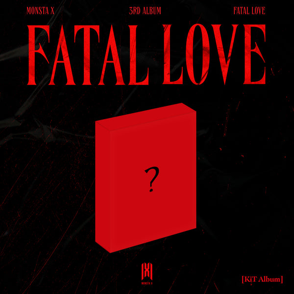 MONSTA X | 몬스타엑스 | 3rd Album [FATAL LOVE] [KIHNO KIT]
