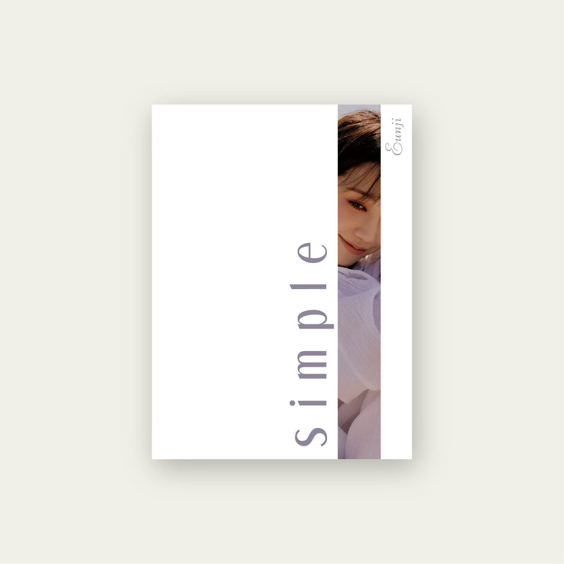 JEONG EUN JI | 정은지 | 4th Mini Album : SIMPLE
