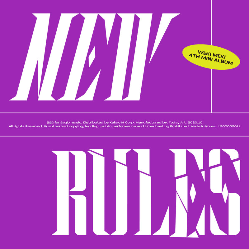 WEKI MEKI | 위키미키 | 4th Mini Album [NEW RULES]
