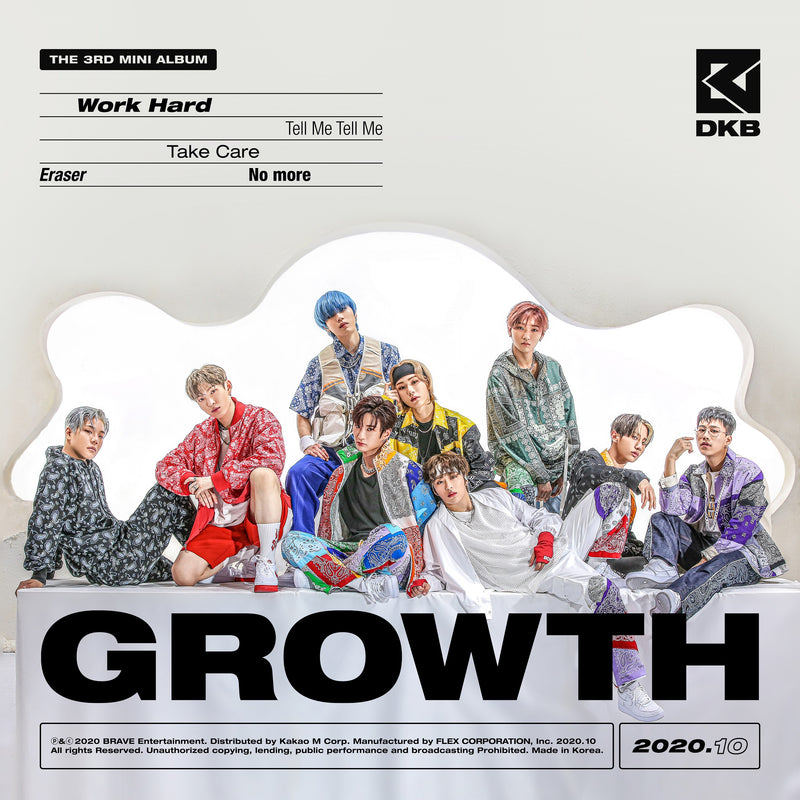 DKB | 다크비 | 3rd Mini Album [GROWTH]
