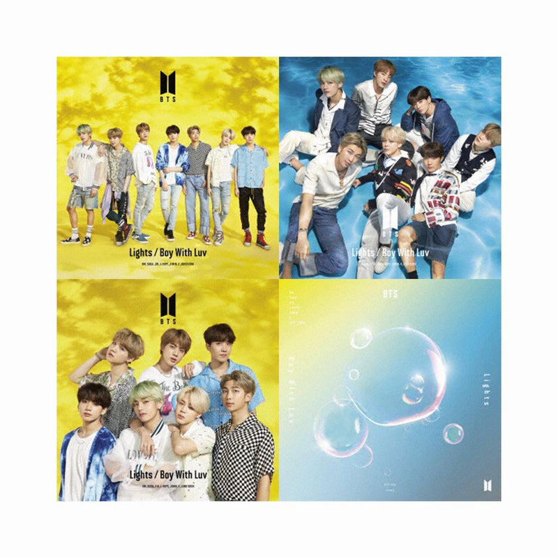BTS | 방탄소년단 | LIGHTS / BOYS WITH LUV [LIMITED EDITION 4Set] (4512630407246)