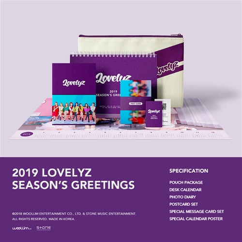LOVELYZ | 러블리즈 | 2019 SEASON'S GREETINGS