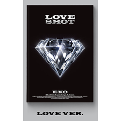 EXO | 엑소 | 5TH Repackage Album : LOVE SHOT - KPOP MUSIC TOWN (4331172823118)