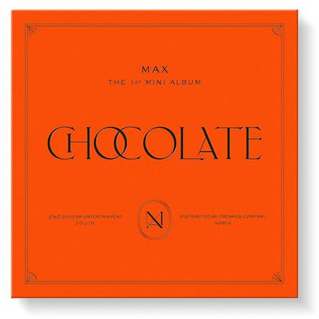 TVXQ MAX  | CHANGMIN | 최강창민 | 1st Mini Album : CHOCOLATE [KIHNO KIT]