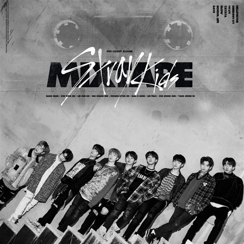 STRAY KIDS | 스트레이 키즈 | Debut Album : MIXTAPE - KPOP MUSIC TOWN (4428181241934)