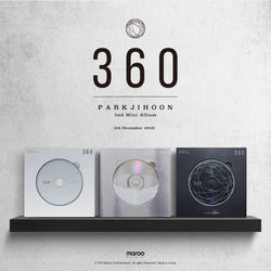 PARK JI HOON | 박지훈 | 2nd Mini Album : 360 - KPOP MUSIC TOWN (4390867468366)