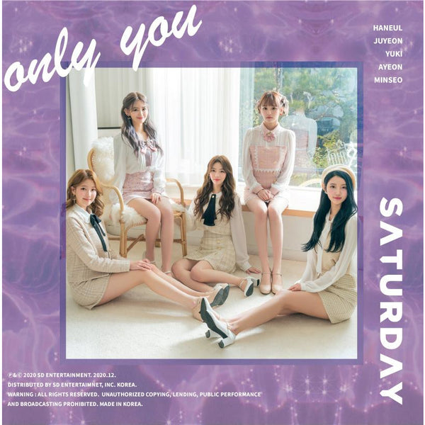 SATURDAY | 세러데이 | 5th Single Album [Only You]