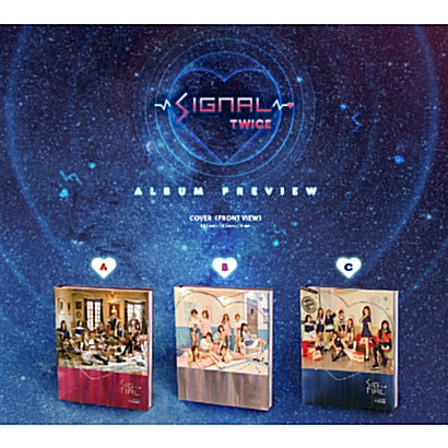 TWICE | 트와이스 | 4th Mini Album : SIGNAL - KPOP MUSIC TOWN (4420778786894)