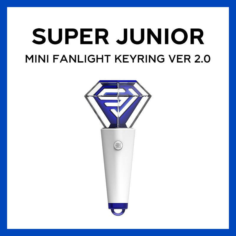 SUPER JUNIOR | 슈퍼주니어 | OFFICIAL MINI LIGHT STICK KEY RING Ver. 2