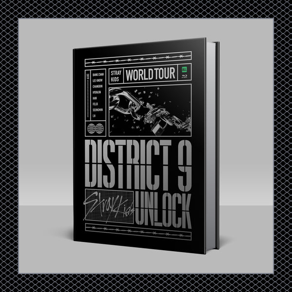 STRAY KIDS | 스트레이 키즈 | World Tour District 9 Unlock in SEOUL [BLU-RAY]