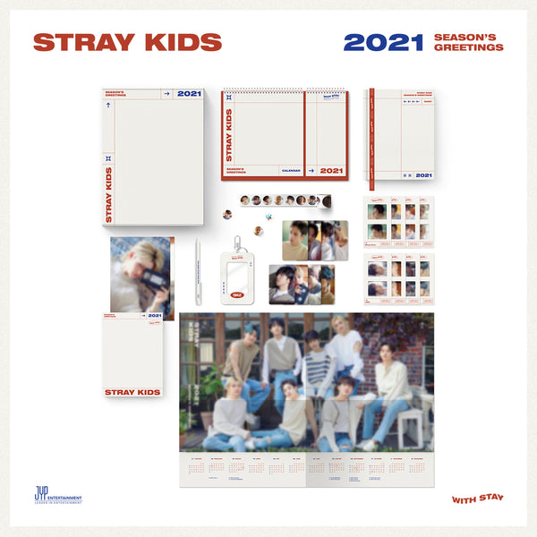 STRAY KIDS | 스트레이키즈 | 2021 SEASON'S GREETINGS