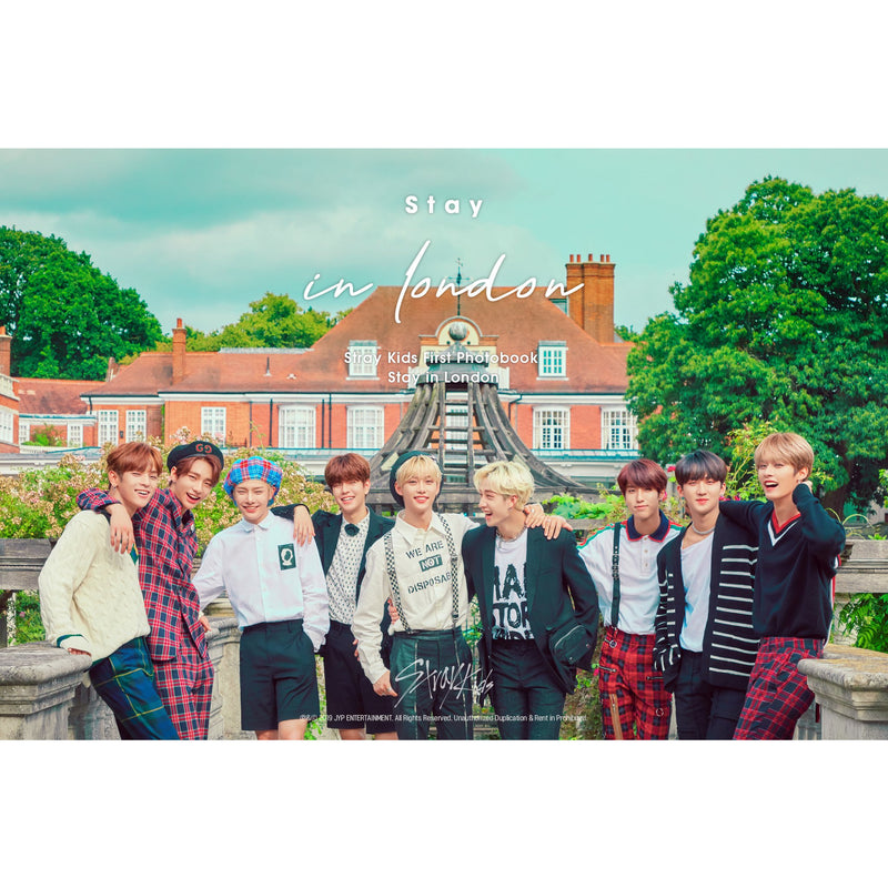 STRAY KIDS | 스트레이키즈 | 1st Photobook : STAY IN LONDON - KPOP MUSIC TOWN (4420812636238)