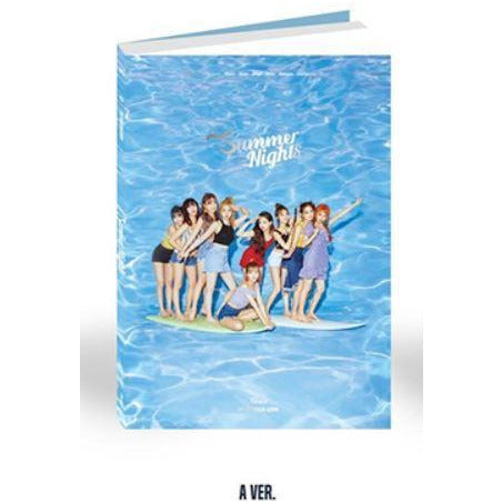 TWICE | 트와이스 | 2nd Special Album : SUMMER NIGHTS (4453084627022)