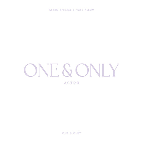 ASTRO | 아스트로 | Special Single Album : ONE & ONLY [LIMITED] (4573596778574)