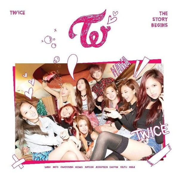 TWICE | 트와이스 | 1st Mini Album : THE STORY BEGINS - KPOP MUSIC TOWN (4420762271822)