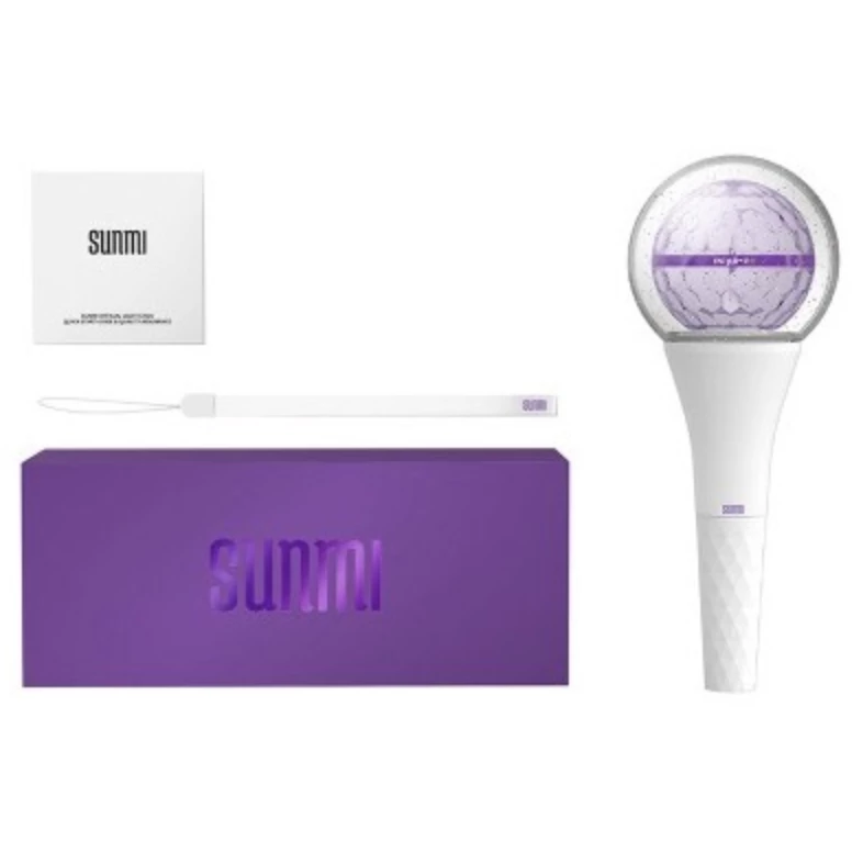 SUNMI | 선미 | OFFICIAL LIGHT STICK - KPOP MUSIC TOWN (4384430489678)