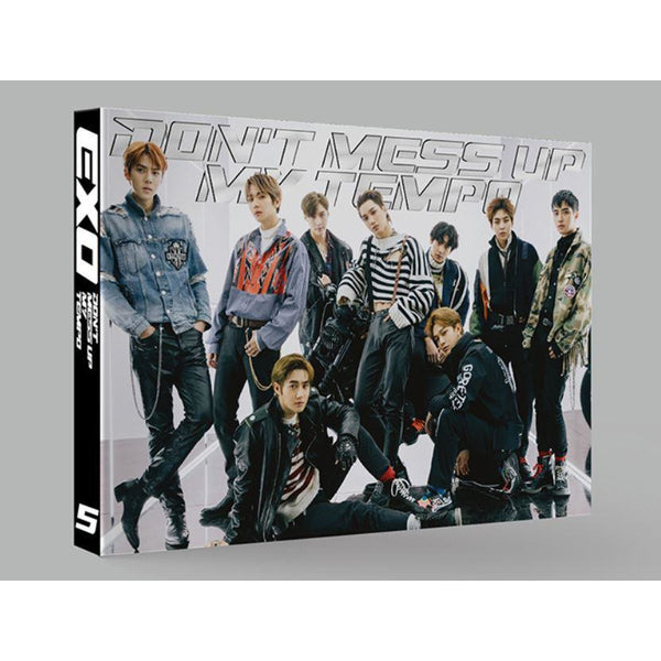 EXO | 엑소 | 5th Album DON'T MESS UP MY TEMPO [LIMITED EDITION] - KPOP MUSIC TOWN (4346425475150)