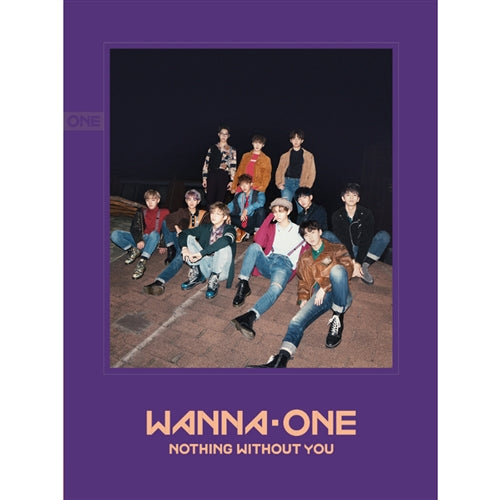 WANNA ONE | 워너원 | 1st Mini Album Repackage : TO BE ONE (NOTHING WITHOUT YOU) - KPOP MUSIC TOWN (4418042134606)