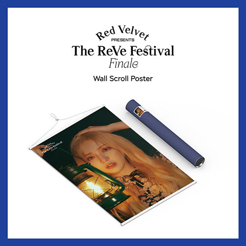 RED VELVET | 레드벨벳 | WALL SCROLL POSTER (4570915864654)