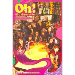 GIRLS' GENERATION | 소녀시대 | vol 2 Album : OH!