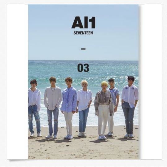 SEVENTEEN | 세븐틴 | 4th Mini Album : Al1 - KPOP MUSIC TOWN (4393579085902)