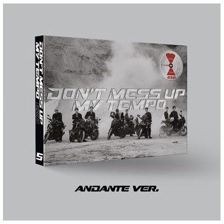 EXO | 엑소 | 5th Album : DON'T MESS UP MY TEMPO - KPOP MUSIC TOWN (4346402734158)