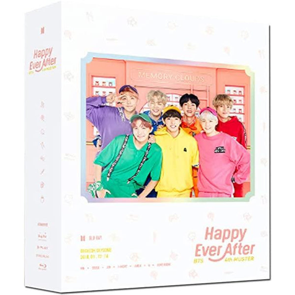 BTS | 방탄소년단 | 4th Muster : HAPPY EVER AFTER [Blu-Ray]