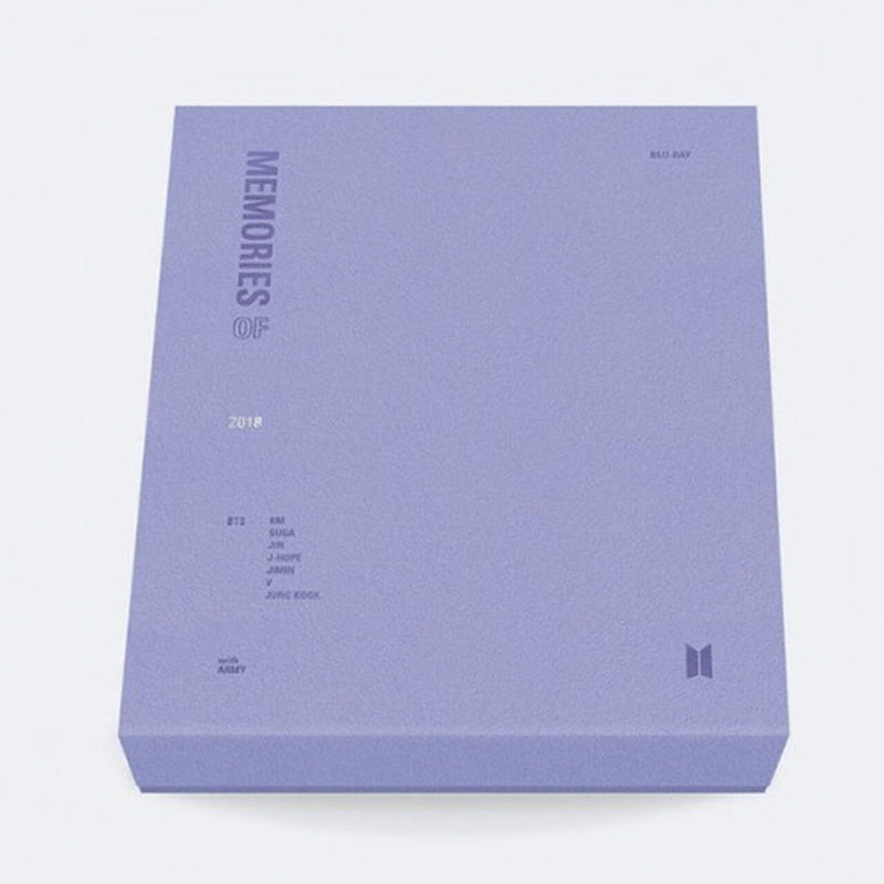 BTS | 방탄소년단 | MEMORIES OF 2018 [BLU-RAY] - KPOP MUSIC TOWN (4398690697294)