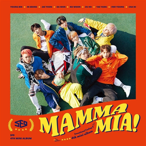 SF9 | 에스에프나인 | 4th Mini : MAMMA MIA