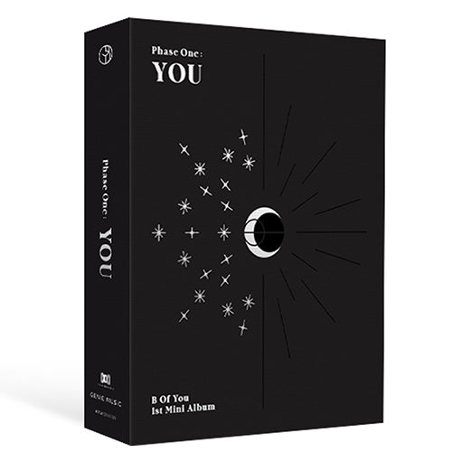 B.O.Y | 비오브유 | 1st Mini Album PHASE ONE : YOU (4485453250638)