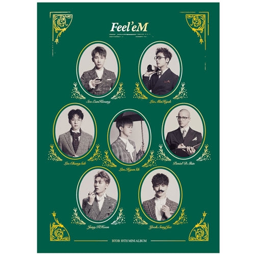 BTOB | 비투비 | 10th Mini Album : FEEL'EM