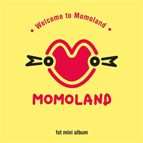 MOMOLAND | 모모랜드 | 1st Mini Album : WELCOME TO MOMOLAND (4512420855886)