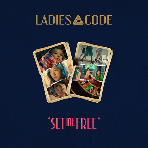 LADIES' CODE | 레이디스코드 | Mini Album : CODE #03 SET ME FREE