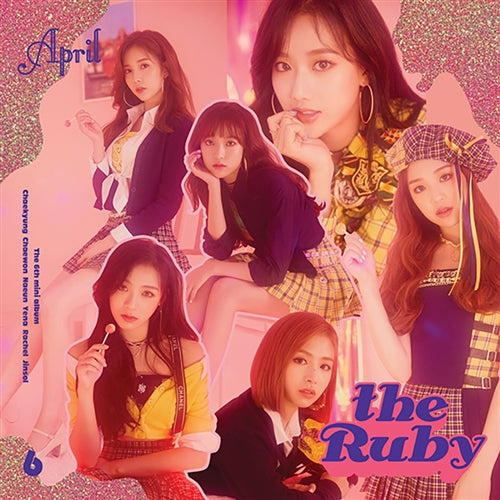 APRIL | 에이프릴 | 6th Mini Album : The Ruby