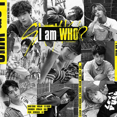 STRAY KIDS | 스트레이 키즈 | 2nd Mini Album : I AM WHO - KPOP MUSIC TOWN (4428140249166)